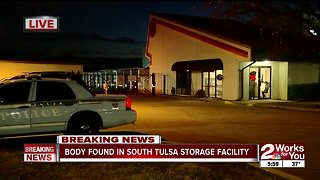 Body found in south Tulsa storage facility - Video