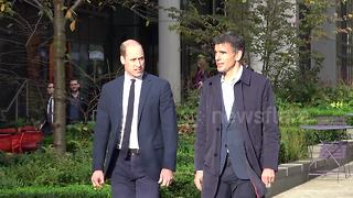 Prince William arrives at Google HQ to launch anti-bullying plan