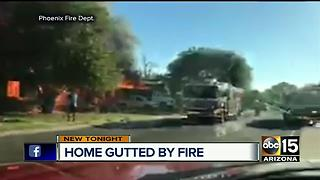 Arcadia home goes up in flames, total loss - Video