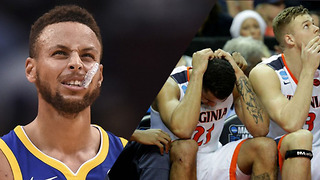 Steph Curry's SNEAKERS To Blame For UMBC Loss To Kansas State? - Video