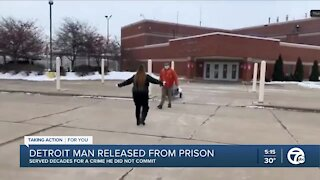 Detroit man wrongfully convicted of murder 26 years ago, granted release