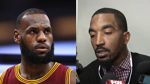 JR Smith Knows EXACTLY Where LeBron James Will End Up in 2018