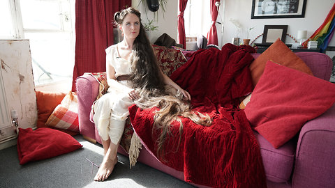 Real-Life Rapunzel And Her Six-Foot Hair | SHARE THE HAIR