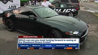 Getting ready for the Woodward Dream Cruise - Video