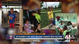 In crisis after Iraq tour, Kansas City veteran given second chance at fatherhood - Video