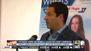 2 Hopkins doctors earn cancer research grants from Hope on Wheels - Video