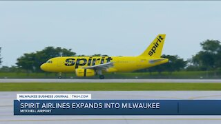 MBJ: Spirit Airlines expands to Milwaukee
