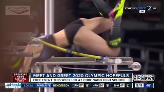 Meet and greet 2020 Olympic hopefuls