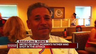 Metro Detroit woman's father shot in Las Vegas attack - Video