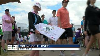 Golf is getting more momentum from younger fans - Video