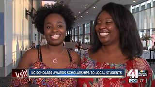 KC Scholars awards scholarships to local students - Video