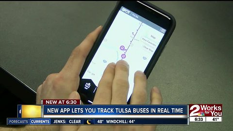 New app lets you track Tulsa buses in real time
