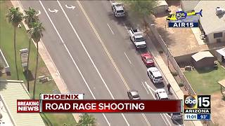 Shooting reported after conflict between drivers in Phoenix - Video