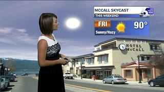 Hazy and hot for the next several days - Video