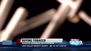 City council to discuss raising minimum purchasing age for tobacco, nicotine products