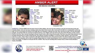 Amber Alert issued for two Florida children