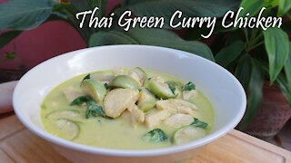 Thai Green Curry Chicken Recipe
