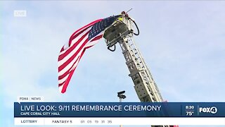 9/11 remembrance ceremony Cape Coral City Hall
