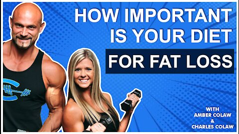 HOW IMPORTANT IS YOUR DIET FOR FAT LOSS❓❓