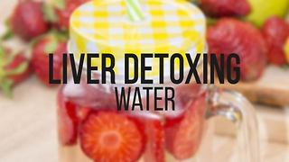 Liver detox water recipe - Video