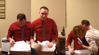 Dad-to-be Gets Sweet Surprise After He Missed The Ultrasound