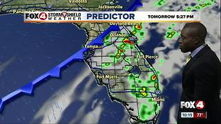 Warm & Humid, Few Storms Sunday - Video