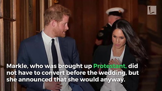 Meghan Markle Has Secret Ceremony with Prince Harry and Archbishop Ahead of Wedding