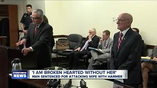 88-year-old man sentenced for attacking wife with hammer - Video