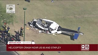 Helicopter crash near U.S. 60 and Stapley