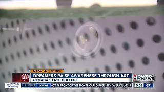 Dreamers raise awareness through art - Video