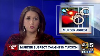 Murder suspect arrested in southern Arizona after Phoenix woman's death - Video