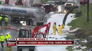 Wrong-way driver causes fatal accident on 77N - Video