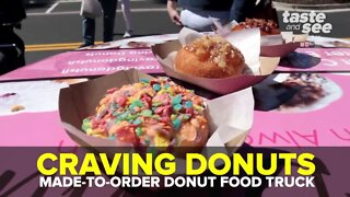 Craving Donuts Food Truck   Taste and See Tampa Bay