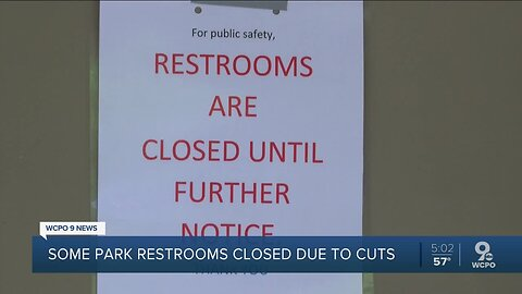 Planning to visit a Cincinnati Park? Restrooms may be closed