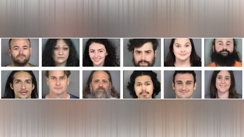 Mug shots of 'Occupy Fremont' protesters released