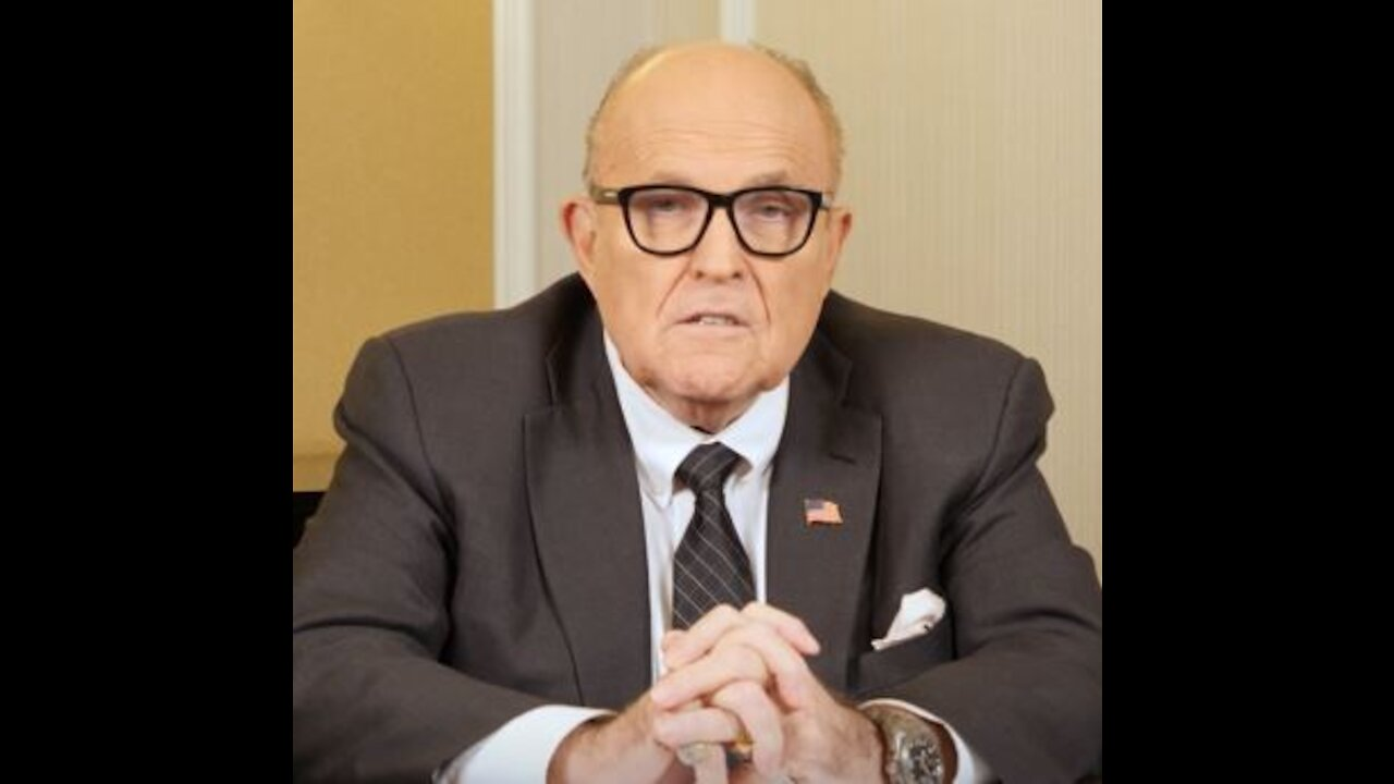 WHAT REALLY HAPPENED on January 6th? Rudy Giuliani Explains