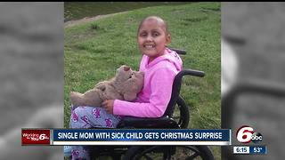 Indiana mother given Christmas surprise by Smiley Morning Show - Video