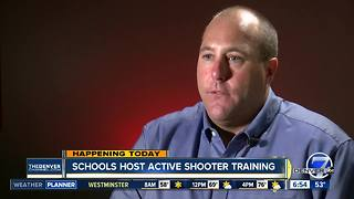 Denver Public Schools host active shooter training - Video