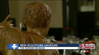 Durham Museum unveils final bronze statue in series - Video