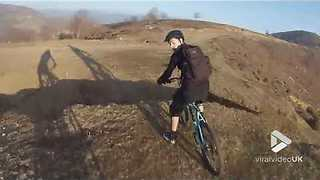 POV mountain bike fail - Video