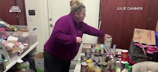 Local couple feed hundreds of families before Christmas