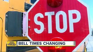 Hillsborough County to survey parents on bell times changing - Video