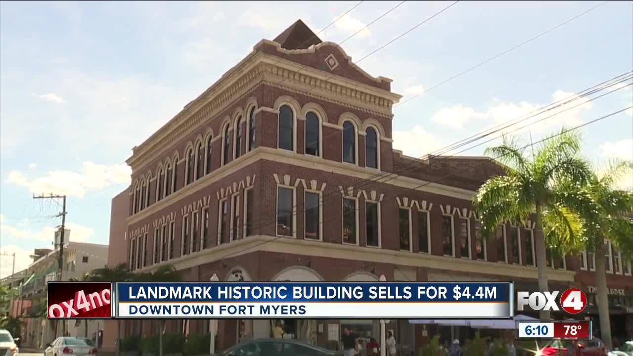 Historic downtown Fort Myers building under new ownership