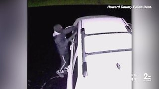 Howard County police seek car burglar
