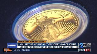 Are you missing a 2002 $25 gold eagle coin? - Video