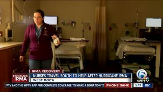 Nurses answer call to help So. Fla. after Irma - Video