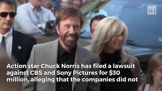 Chuck Norris Files Lawsuit Against CBS and Sony for $30 Million - Video