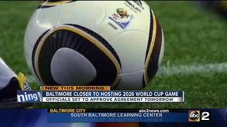 Baltimore in the running to host 2026 FIFA World Cup - Video