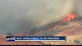 NIFC warns of more possible wildfires in the Gem State - Video