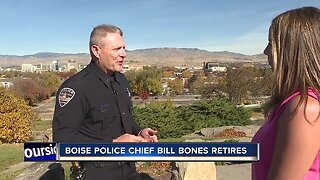 Boise Police Chief Bill Bones retires in emotional ceremony Thursday